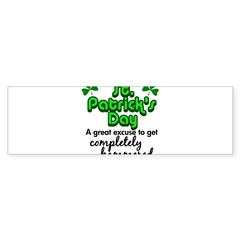 St. Patrick's Day Sticker (Bumper)