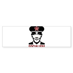 Obama Socialism Rectangle Sticker (Bumper)