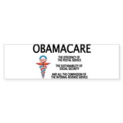 OBAMACARE II Rectangle Sticker (Bumper)