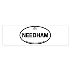 Needham Town Fore Sticker (Bumper)