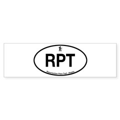 Resurrection Pass Trail Sticker (Bumper)