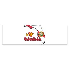 ILY Florida Sticker (Bumper)