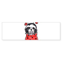 Shih Tzu Lover Sticker (Bumper)