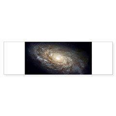 NGC 4414 Spiral Galaxy Oval Sticker (Bumper)
