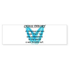 Chaos Theory - War Sticker (Bumper)