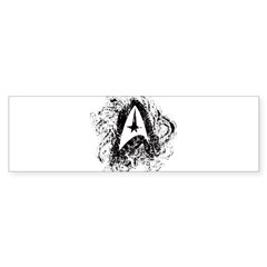 Star Trek Insignia Art Sticker (Bumper)