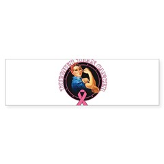 Tougher Than Breast Cancer Ro Sticker (Bumper)