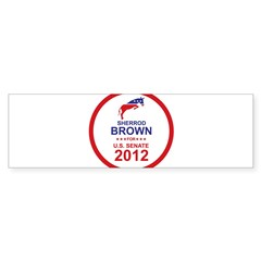 Sherrod Brown Sticker (Bumper)
