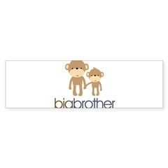 Big Brother Monkey Sticker (Bumper)