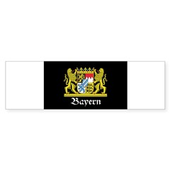 Black Bayern Sticker (Bumper)