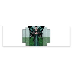 Etégina the Night Fairy Rectangle Sticker (Bumper)