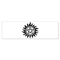 Supernatural Anti-Possession Sticker (Bumper)