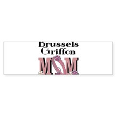 Brussels Griffon MOM Sticker (Bumper)