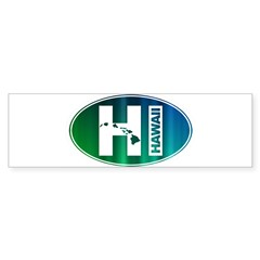 HI Hawaii - Sticker (Bumper)