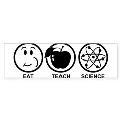 Science Teacher Sticker (Bumper)