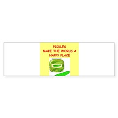 pickles Sticker (Bumper)