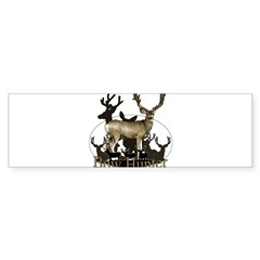Bow hunter 4 Sticker (Bumper)