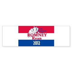 Romney Ryan Sticker (Bumper)