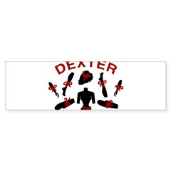 Dexter Dismembered Doll Sticker (Bumper)