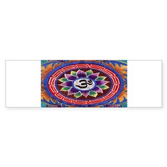 OM Tapestry Oval Sticker (Bumper)