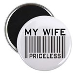 My Wife Priceless Barcode Magnet