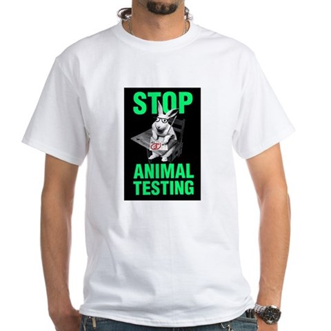 stop animal testing pictures. STOP ANIMAL TESTING Shirt