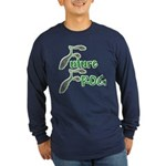 Future Frog Long Sleeve Blue T-Shirt