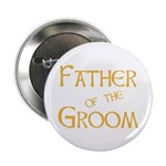 "Sherbet Father of the Groom 2.25"" Button (100 pack"