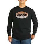 Labrador Woof Long Sleeve Dark T-Shirt