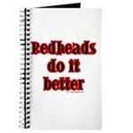 """Redheads do it better"" Journal"