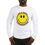 Happy Conservative Long Sleeve T-Shirt