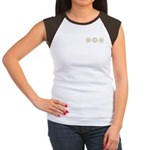 Cool Mod Mom Dots Mother's Day Women's Cap Sleeve