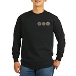 Cool Mod Mom Dots Mother's Day Long Sleeve Dark T-