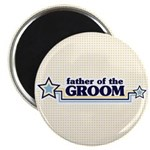 "Father of the Groom 2.25"" Magnet (100 pack)"