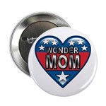 "Heart Wonder Mom Mother's 2.25"" Button (10 pack)"