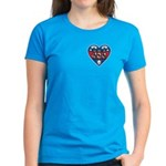 Heart Wonder Mom Mother's Women's Dark T-Shirt