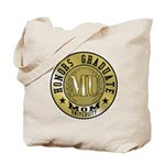 Mom University Honors Graduate Tote Bag