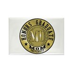 Mom University Honors Graduate Rectangle Magnet (1