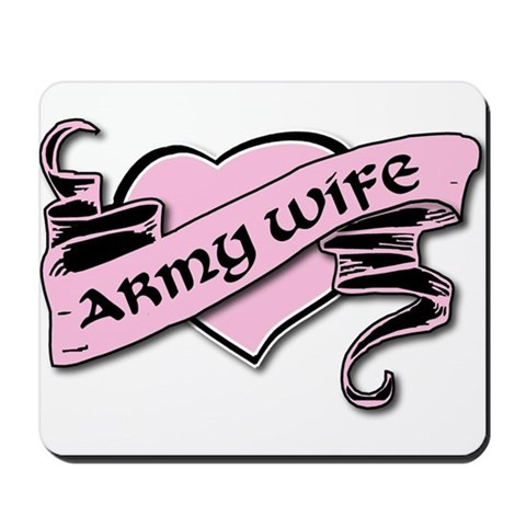 A goth/punk black and pink tattoo heart custom made for the Army Wife!