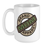 Mom Name Brand Apparel Logo Large Mug
