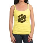 Mom Name Brand Apparel Logo Jr. Spaghetti Tank