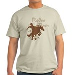 Rodeo Mom Wester Cowboy Cowgirl Light T-Shirt