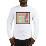Mother Plaque with Hearts Mother's Long Sleeve T-S