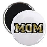 "Golden Mom Name Gold Letters 2.25"" Magnet (10 pack"