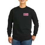 Mom in Pink Mother's Day Long Sleeve Dark T-Shirt