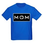 Dymo Black Label Me Mom Mother Kids Dark T-Shirt