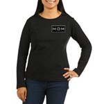 Dymo Black Label Me Mom Mother Women's Long Sleeve