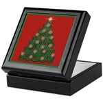 Celtic Christmas Tree Keepsake Box