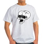 Screaming Skull Light T-Shirt