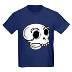 Funny Skull Kids Dark T-Shirt